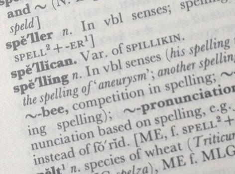 Better spelling for better SEO